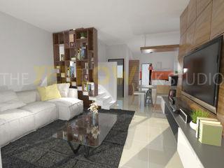 The Yellow Ink Studio Ruang Keluarga Modern