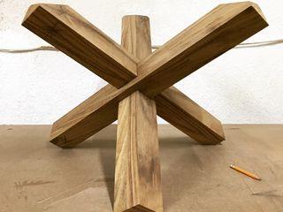 Manolo Campos, ebanistería contemporánea Sala de estarBancadas e bandejas Madeira maciça Acabamento em madeira