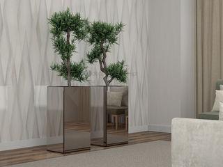 Decordesign Interiores Коридор, коридор і сходиАксесуари та прикраси ДСП Металевий / срібло