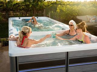 Swim Spa als Pool Alternative SPA Deluxe GmbH - Whirlpools in Senden Moderner Garten