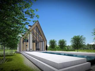 Zein Architecten Adviseurs مسبح لانهائي خشب Beige