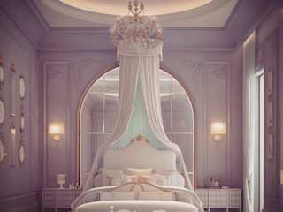 Master Bedroom Design Ideas IONS DESIGN Classic style bedroom Marble Multicolored