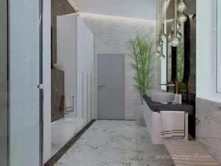 студия Design3F Salle de bain minimaliste
