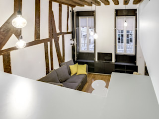 Créateurs d'Interieur 北欧デザインの リビング