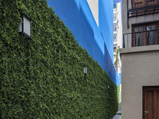 Artificial Vertical Garden Outdoors Sunwing Industries Ltd Walls & flooringWall & floor coverings Plastic Green