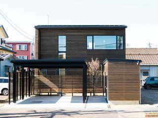 エヌ スケッチ Modern houses Wood