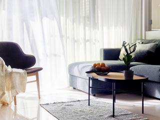樸十設計有限公司 SIMPURE Design Вітальня