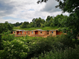 Outposts Accomodation Launch Building With Frames Wooden houses Wood