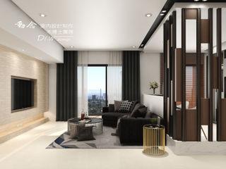 允將大有 木博士團隊/動念室內設計制作 现代客厅設計點子、靈感 & 圖片