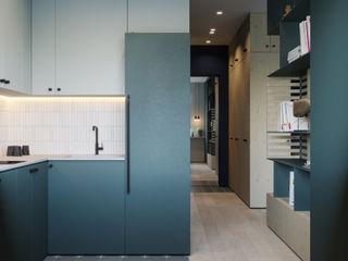 Suiten7 Küçük Mutfak Orta Yoğunlukta Lifli Levha Beyaz