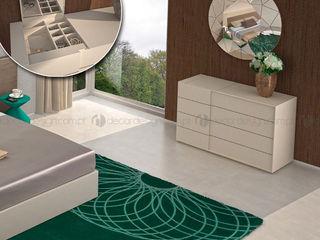 Decordesign Interiores СпальняТуалетні столики ДСП Білий