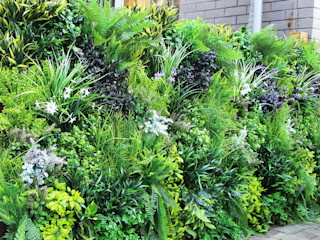 Outdoor artificial vertical garden fence privacy Sunwing Industries Ltd ArtworkOther artistic objects Plastic Green