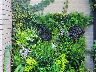 Outdoor artificial vertical garden fence privacy Sunwing Industries Ltd Walls & flooringWall & floor coverings Plastic Green
