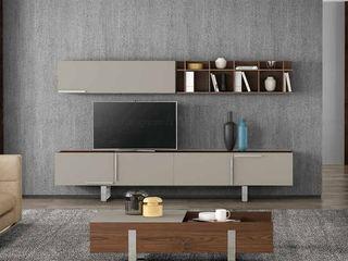 Decordesign Interiores ВітальняПідставки для телевізорів та шафи ДСП Дерев'яні
