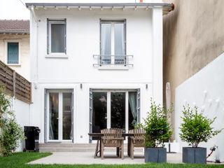 Un escalier original dans une maison de ville de 83 m2 Créateurs d'Interieur Maison individuelle