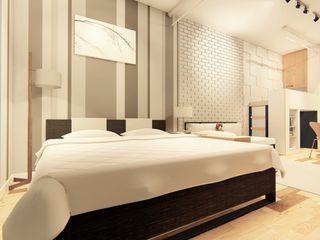 LI A'ALAF ARCHITECT Dormitorios de estilo minimalista