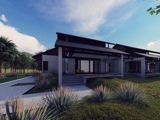 LI A'ALAF ARCHITECT Casas de estilo moderno