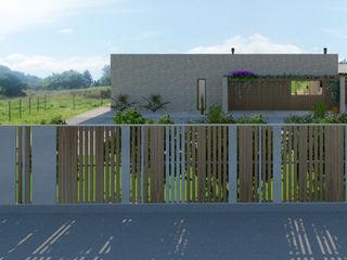 Diseño de una vivienda Unifamiliar de nueva construcción en Cabueñes, Gijón (Proyecto en construcción) arQmonia estudio, Arquitectos de interior, Asturias Casas unifamilares