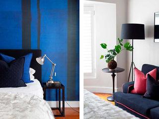 Metaphor Design Small bedroom Wood Blue