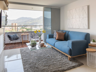 Casa de Tres Living room