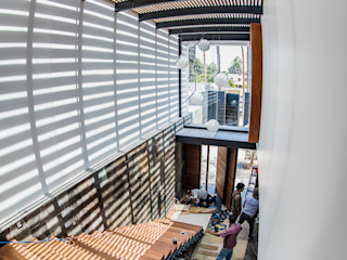 DOF Arquitectos Stairs Wood Wood effect