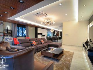 Young Concept Design Sdn Bhd Salones de estilo moderno