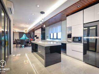 Young Concept Design Sdn Bhd Cocinas de estilo moderno