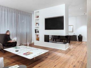MIROarchitetti Salones de estilo moderno