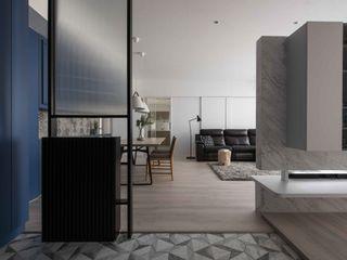思維空間設計 Minimalist corridor, hallway & stairs