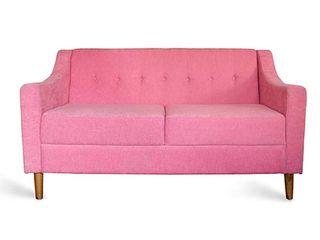 viku 客廳凳子與椅子 木頭 Pink