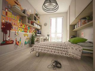 BEDROOM DESIGN Ivan Rivoltella Camera da letto moderna