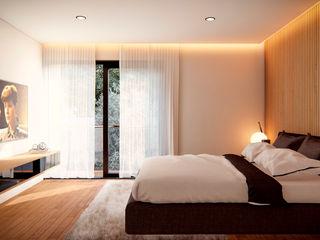 Edificio Coyoacán Ancla Imports S.A. de C.V. Dormitorios minimalistas