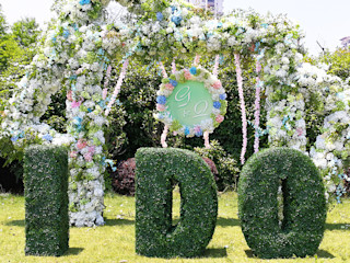 Artificial Boxwood Letters in Indoor and Outdoor Decoration Sunwing Industries Ltd Garden Accessories & decoration Plastic Green