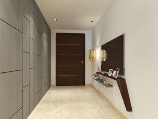The Workroom Modern corridor, hallway & stairs