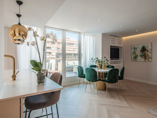 Simetrika - Reformas Integrales en Madrid Livings de estilo clásico