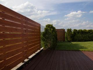 Bednarski - Usługi Ogólnobudowlane Modern balcony, veranda & terrace