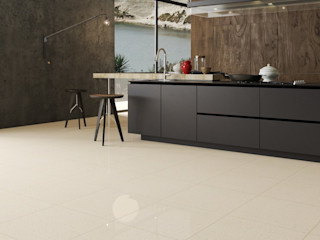 Interceramic MX Rustic style kitchen Ceramic Beige