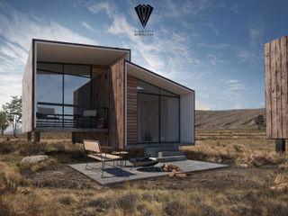 Diamante Arquitectura Casa passiva Legno massello