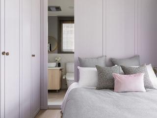 寓子設計 Dormitorios de estilo escandinavo