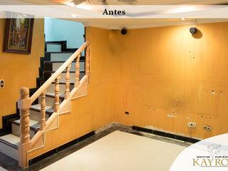 KAYROS ARQUITECTURA DISEÑO INTERIOR Murs & SolsPapier peint