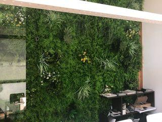 New Rejuvenation Ideas for Office Greening Sunwing Industries Ltd Interior landscaping Plastic Green