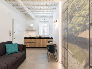 Il Giardino Segreto B+P architetti Cucina moderna Legno