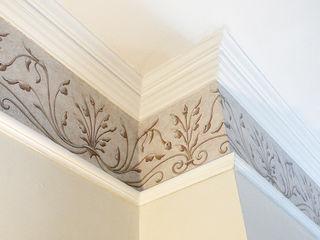 Renaissance Wallpaper Border Fiorentini Design Walls Beige
