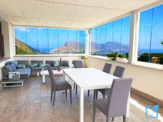SEAR di Azzarello Caterina & C snc Balcony Glass Transparent