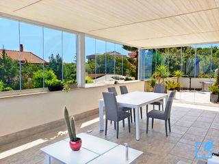 SEAR di Azzarello Caterina & C snc Modern conservatory Glass Transparent