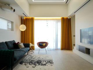 인우건축사사무소 Modern Living Room