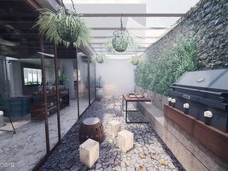 Anastomosis Design Lab Balcones y terrazasPlantas y flores