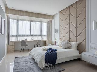 水波 ‧ 靜謐 層層室內裝修設計有限公司 臥室