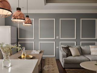 鋪敘‧懷戀 層層室內裝修設計有限公司 现代客厅設計點子、靈感 & 圖片