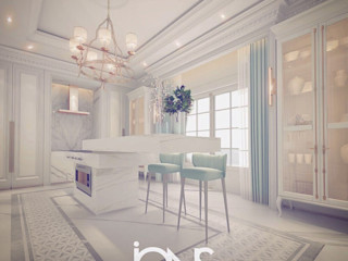 Luxury Design for Kitchen Interiors IONS DESIGN Kitchen units Stone White